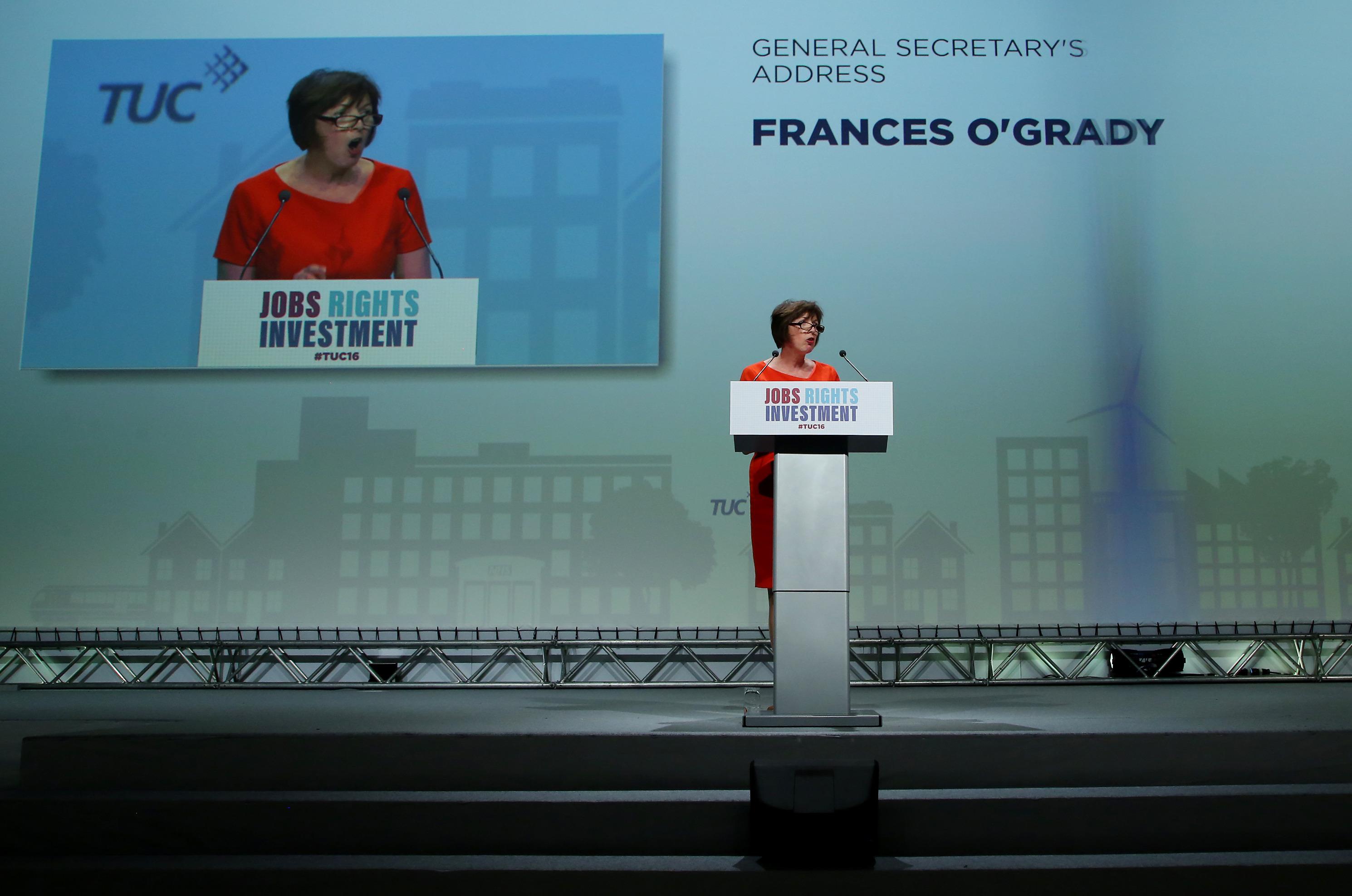 Frances O'Grady TUC