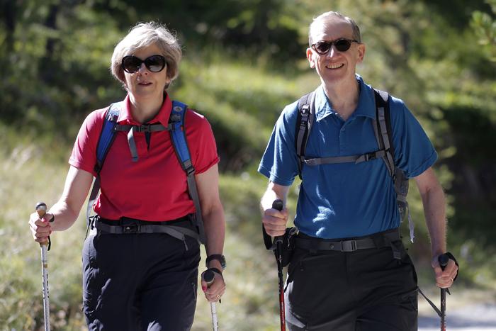 Philip May Walking