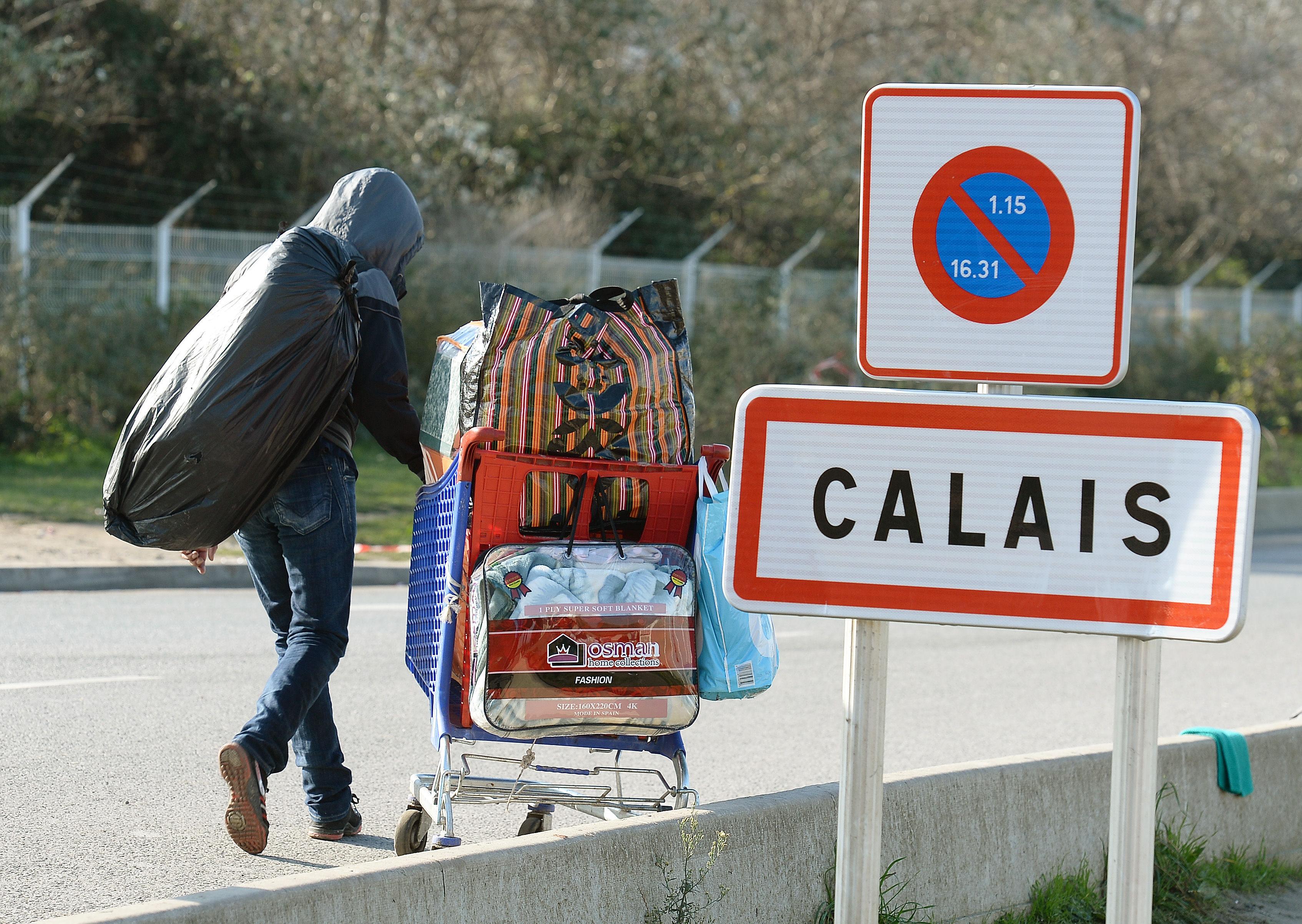 Calais Migrant