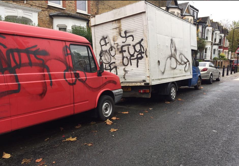 Shomrim Swastika Vans