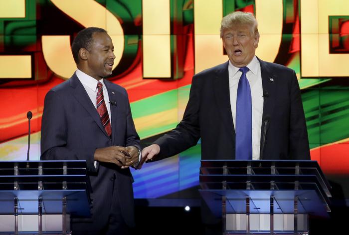Trump Carson Debate