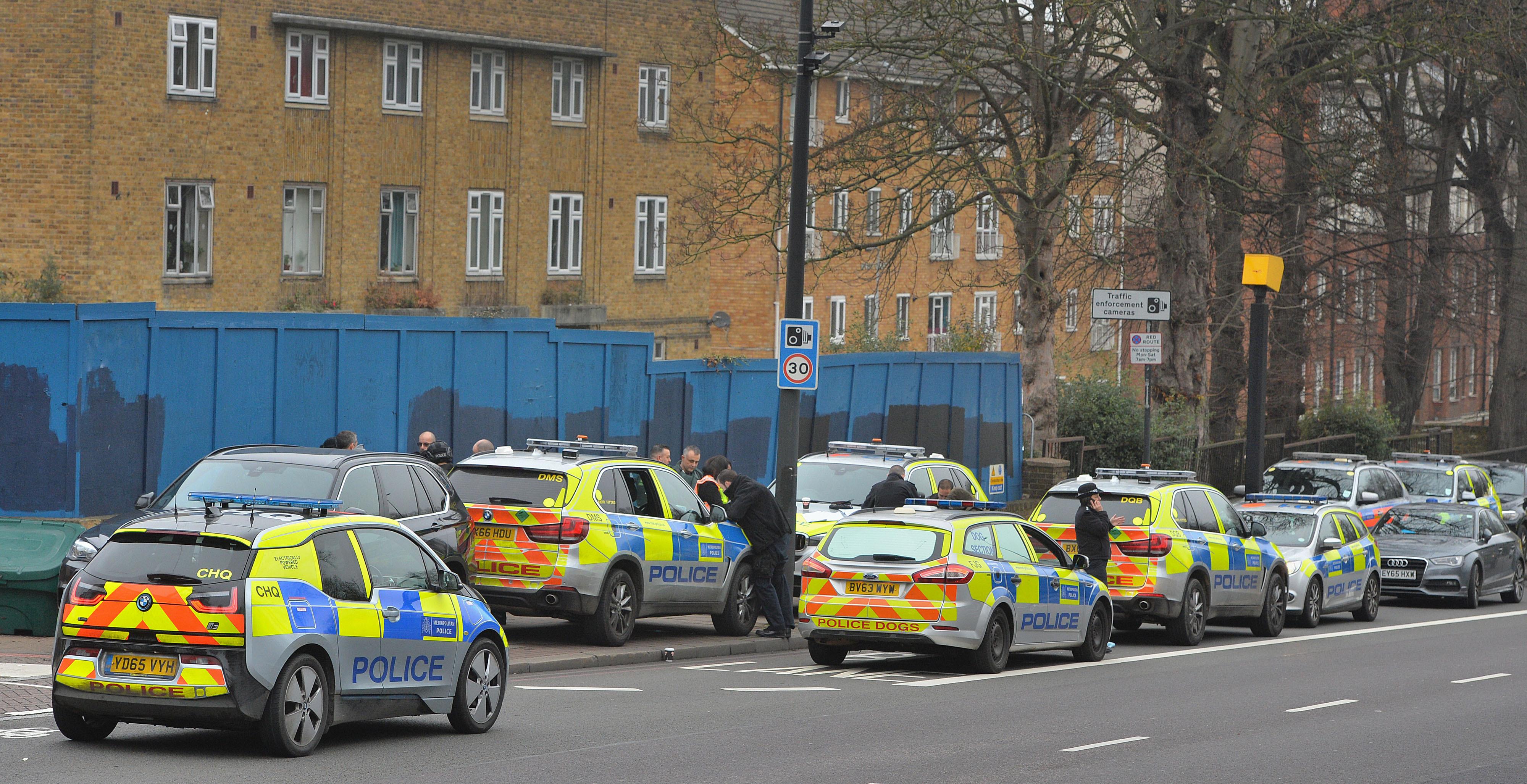 Brixton standoff