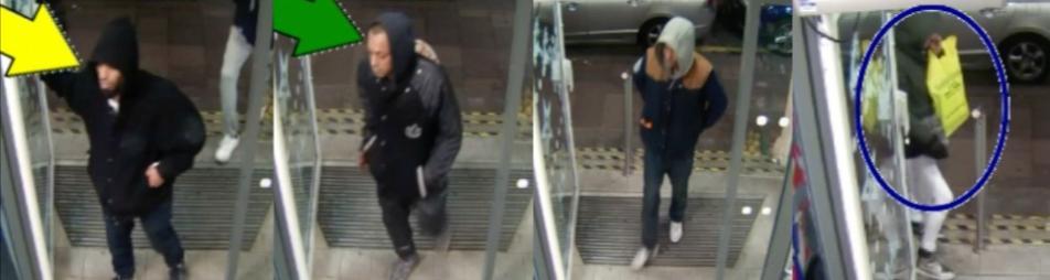 Stepney Robbery CCTV