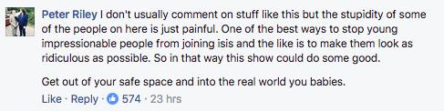 Facebook User On Real Housewives Of ISIS