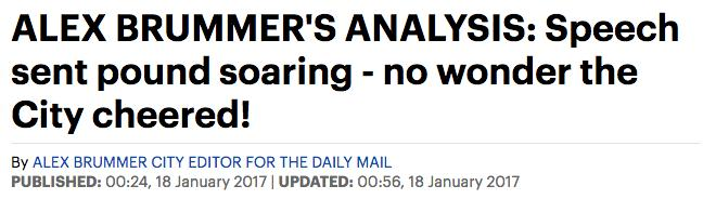 Brummer Daily Mail