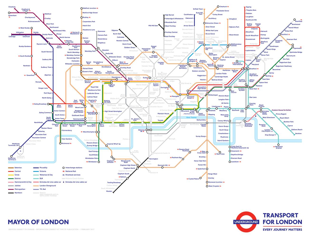 TfL Strike Map