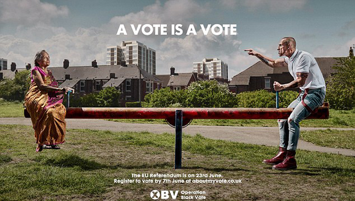 A Vote Is A Vote Poster