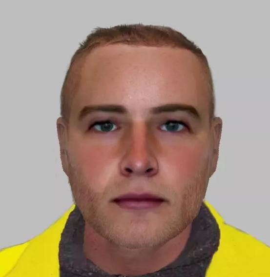 E-fit of a man wanted for distraction burglary