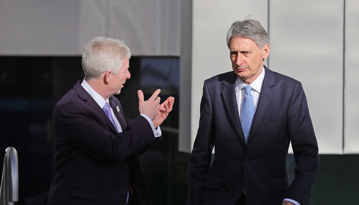 Philip Hammond Walk