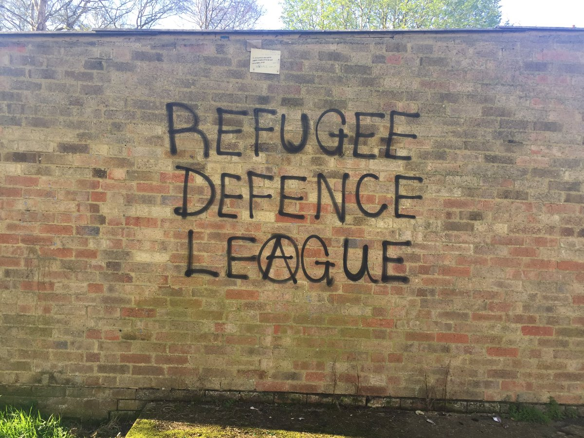 Refugee graffiti