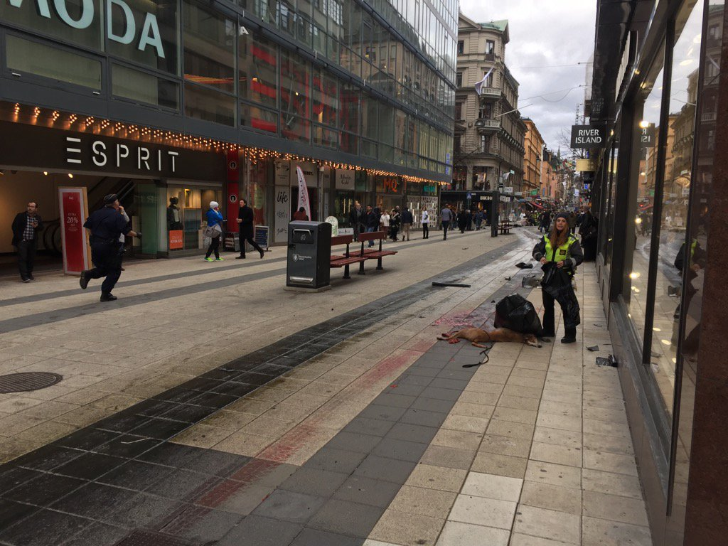 Stockholm Terror Attack Aftermath