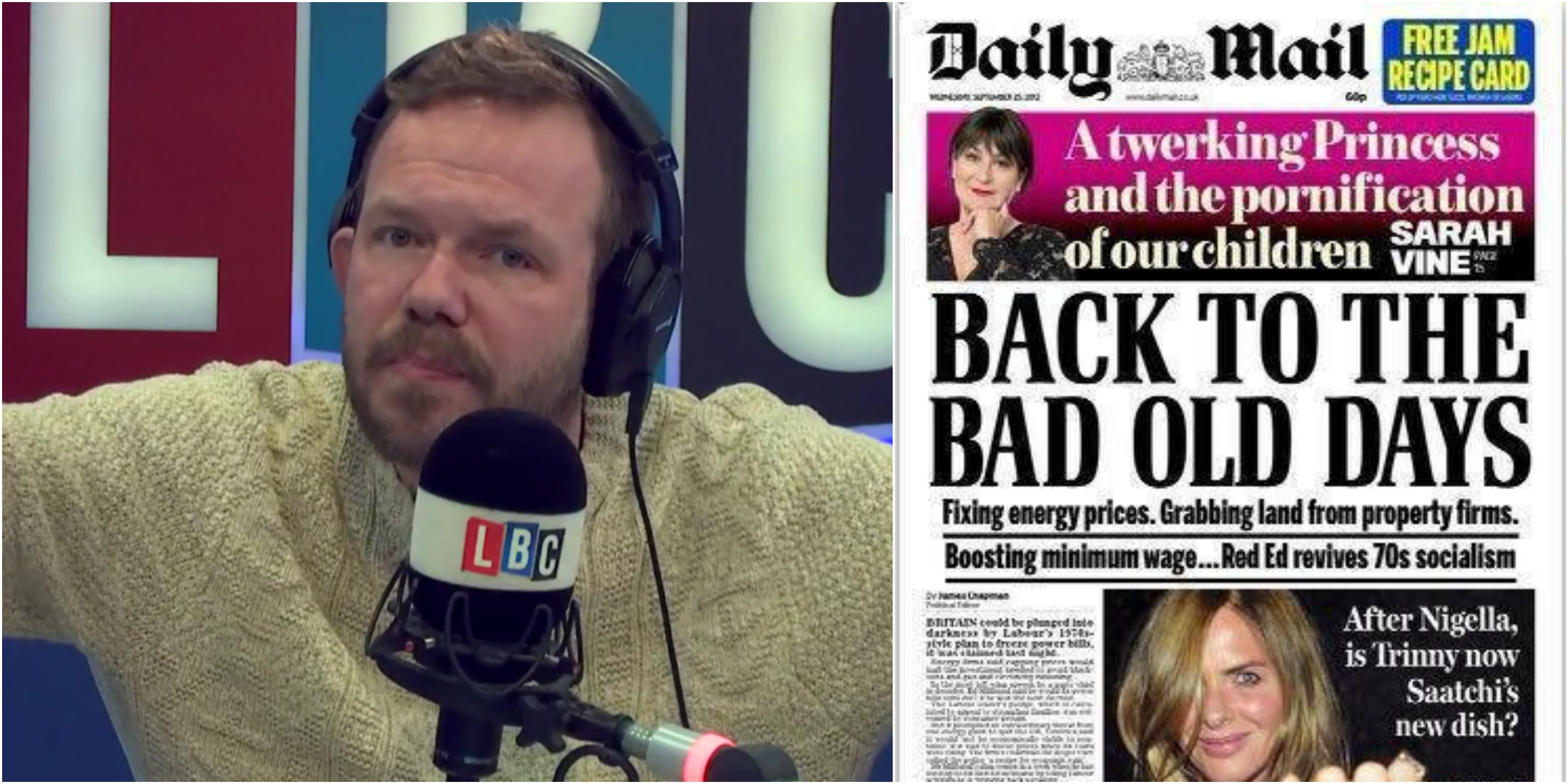 Daily Mail James O'Brien