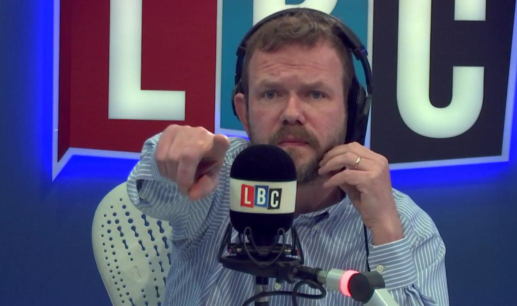 James O'Brien pointing
