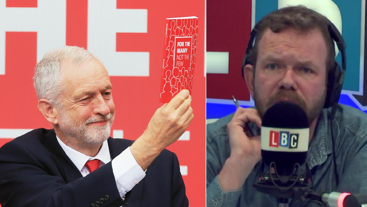 Jeremy Corbyn James O'Brien