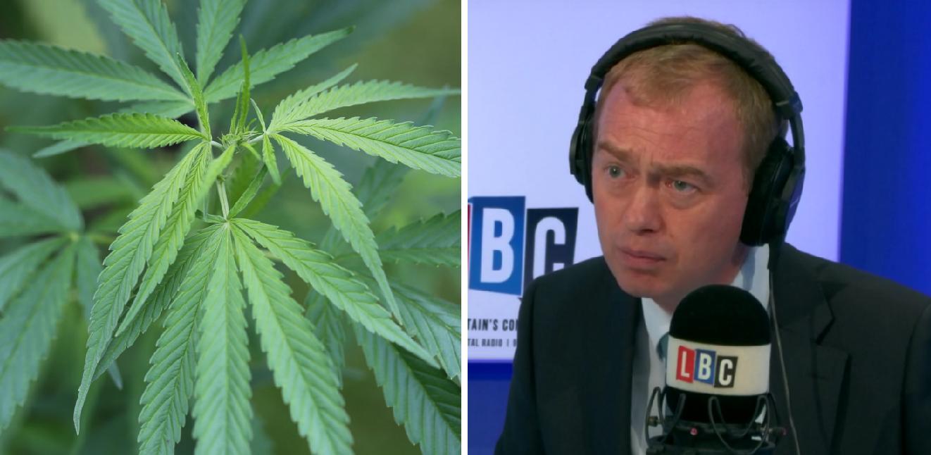 Cannabis Tim Farron