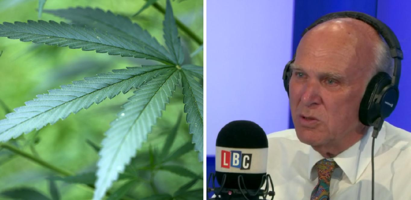 Cannabis Vince Cable