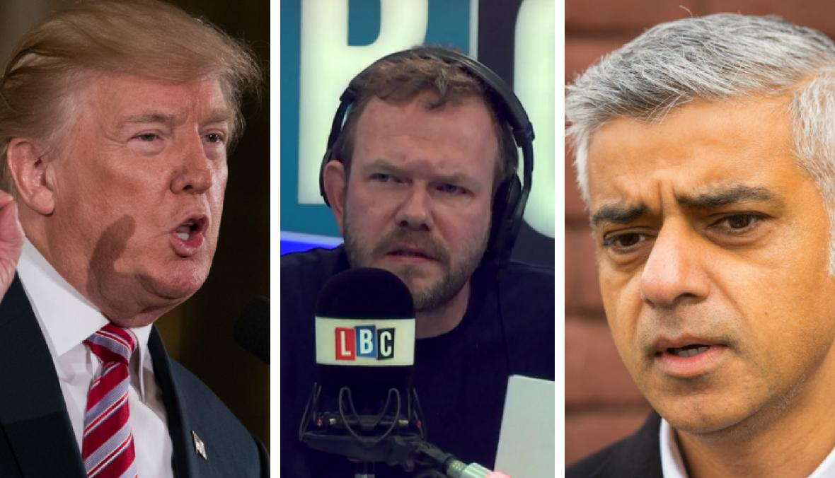 James O'Brien, Trump, Khan
