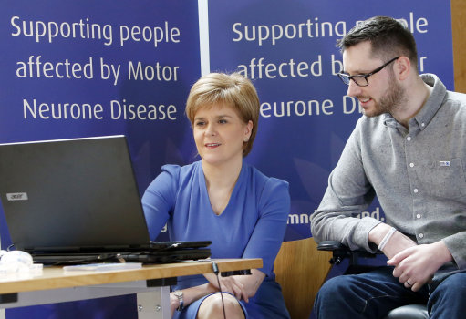 Nicola Sturgeon & Gordon Aikman
