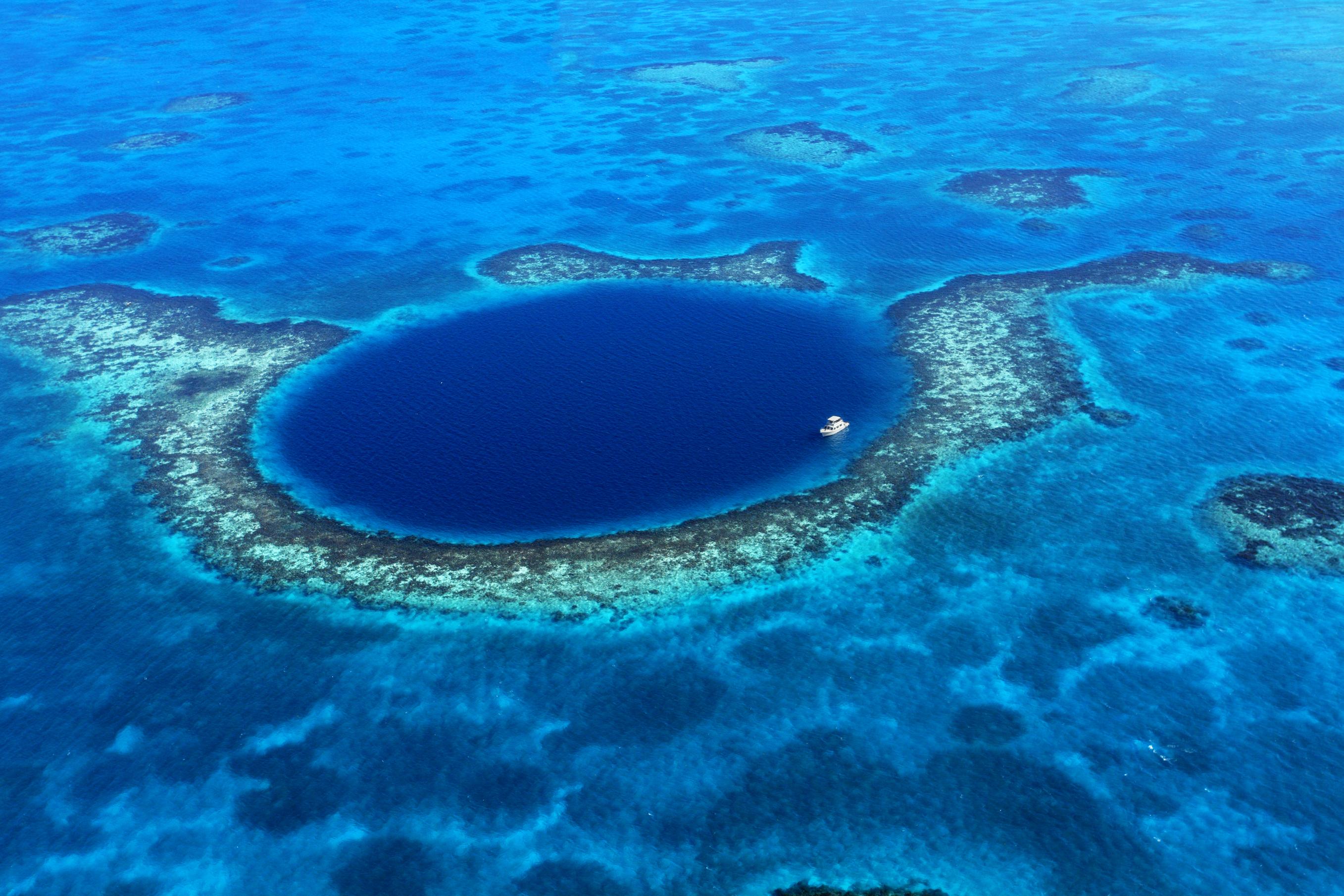 Sinkhole Belize