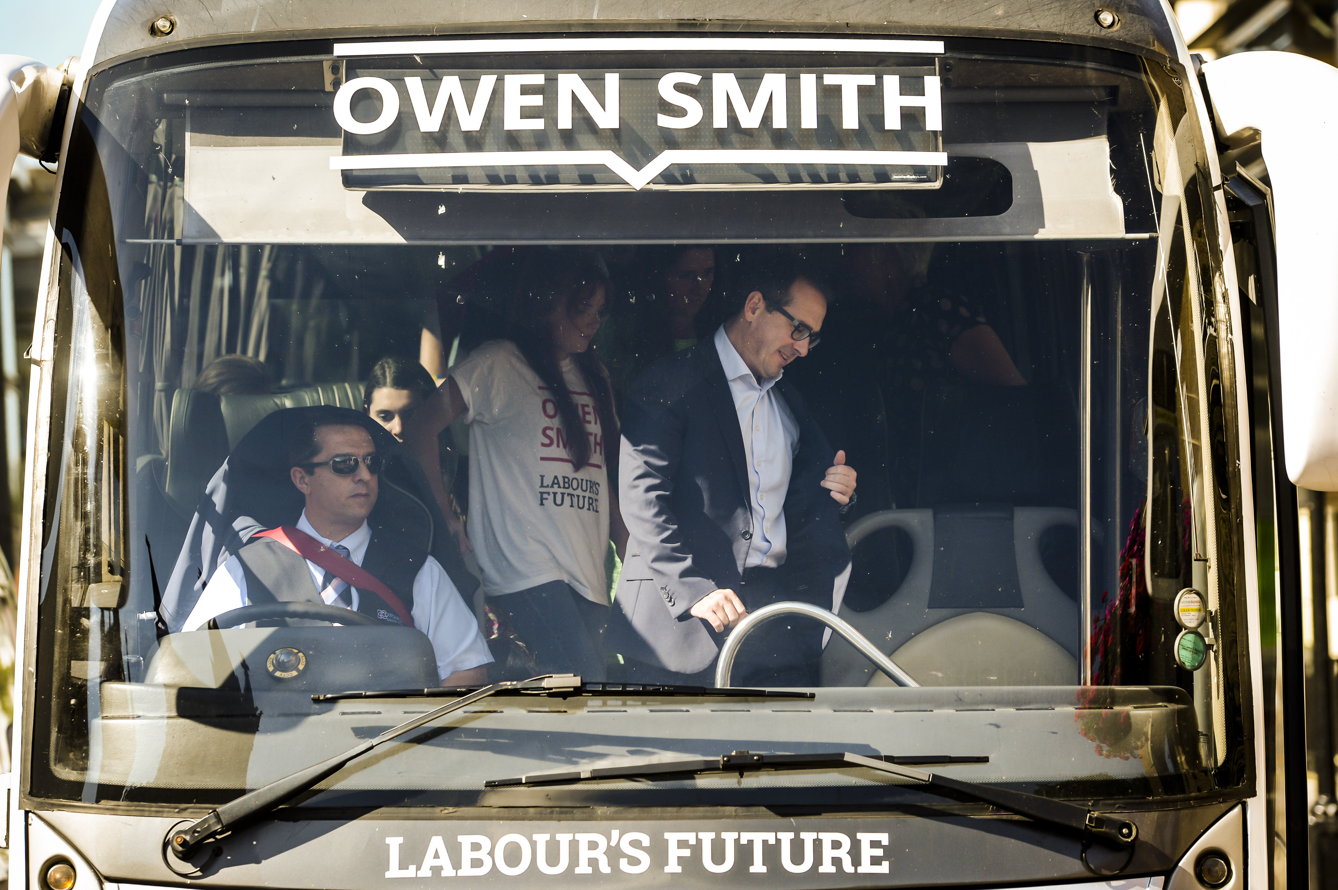Owen Smith Bus