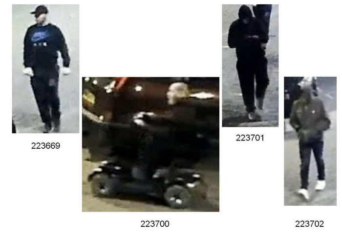 Dagenham Mobility Scooter Suspects