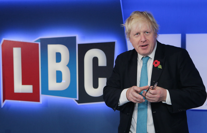 Boris Johnson LBC Logo