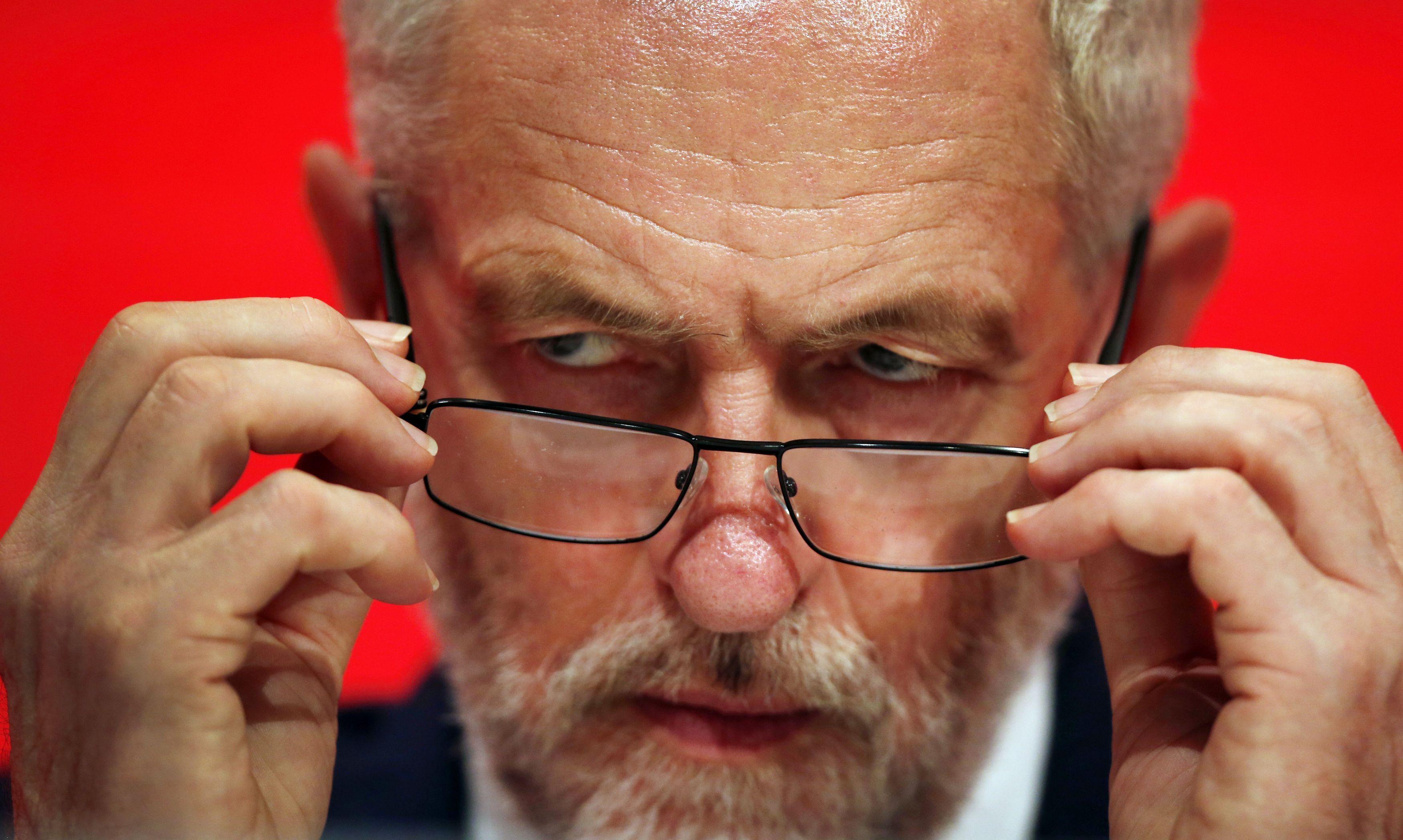 Jeremy Corbyn Eyes