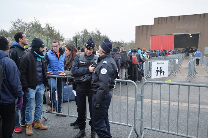 Calais Police 700