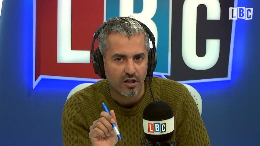 Maajid Nawaz disagree