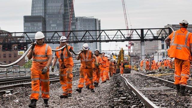 rail works over christmas 2018