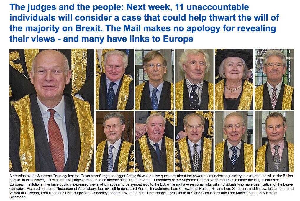 Mail Online supreme court