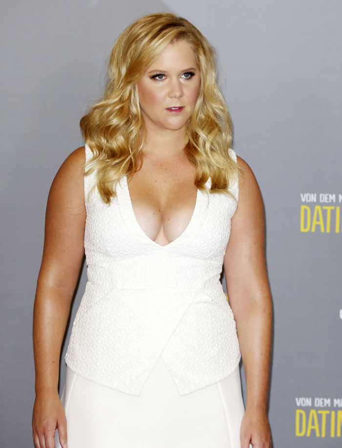 Amy Schumer White Dress