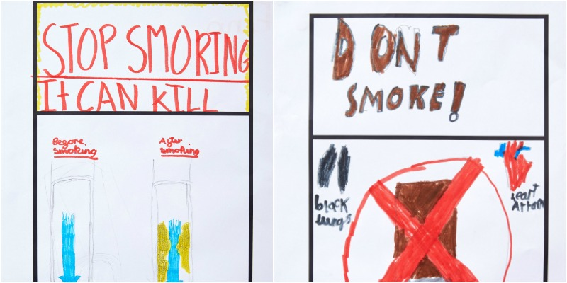 Smoking Kids Designs
