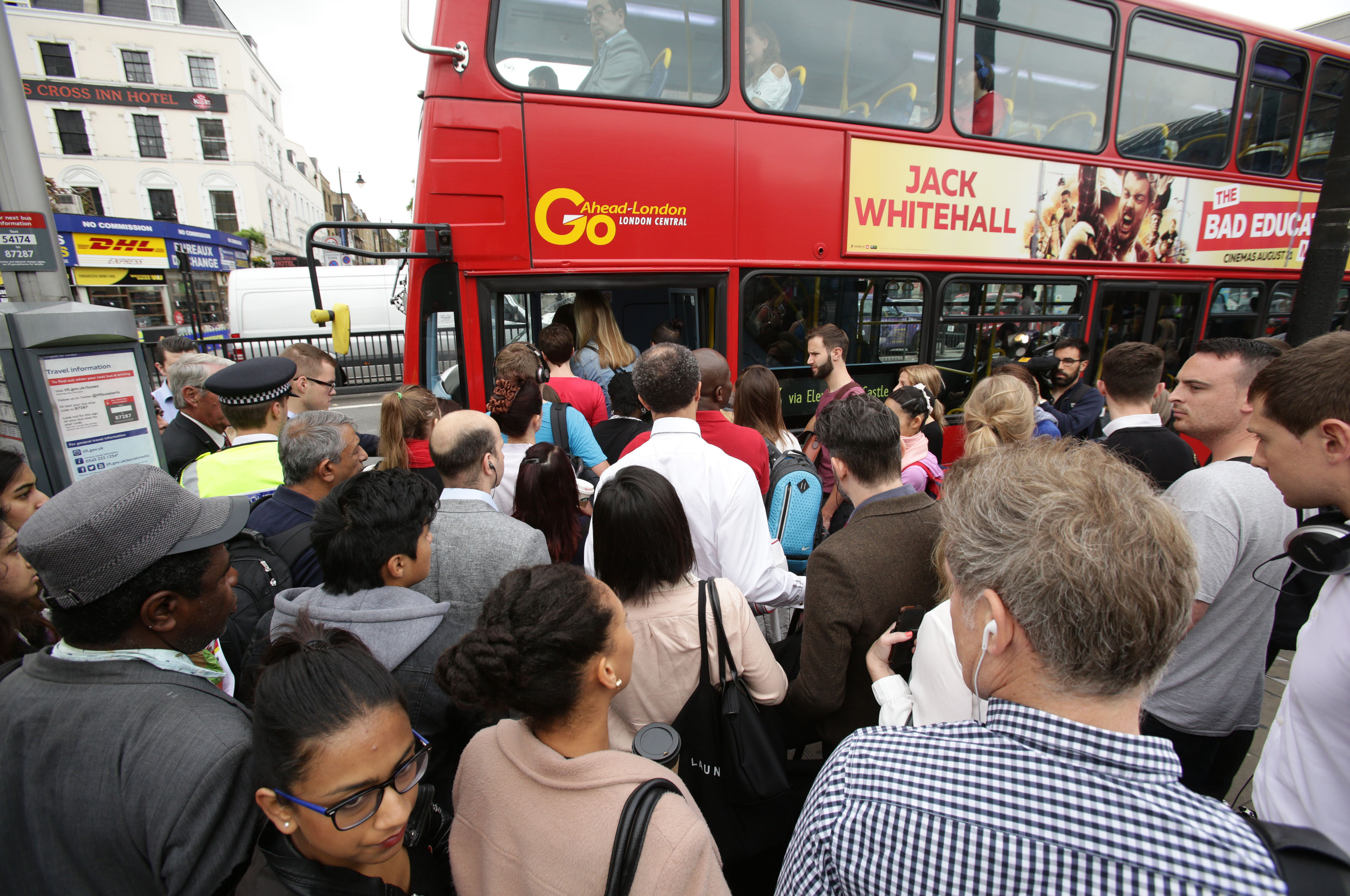 Buses Are Expected To Be Busier Than Usual