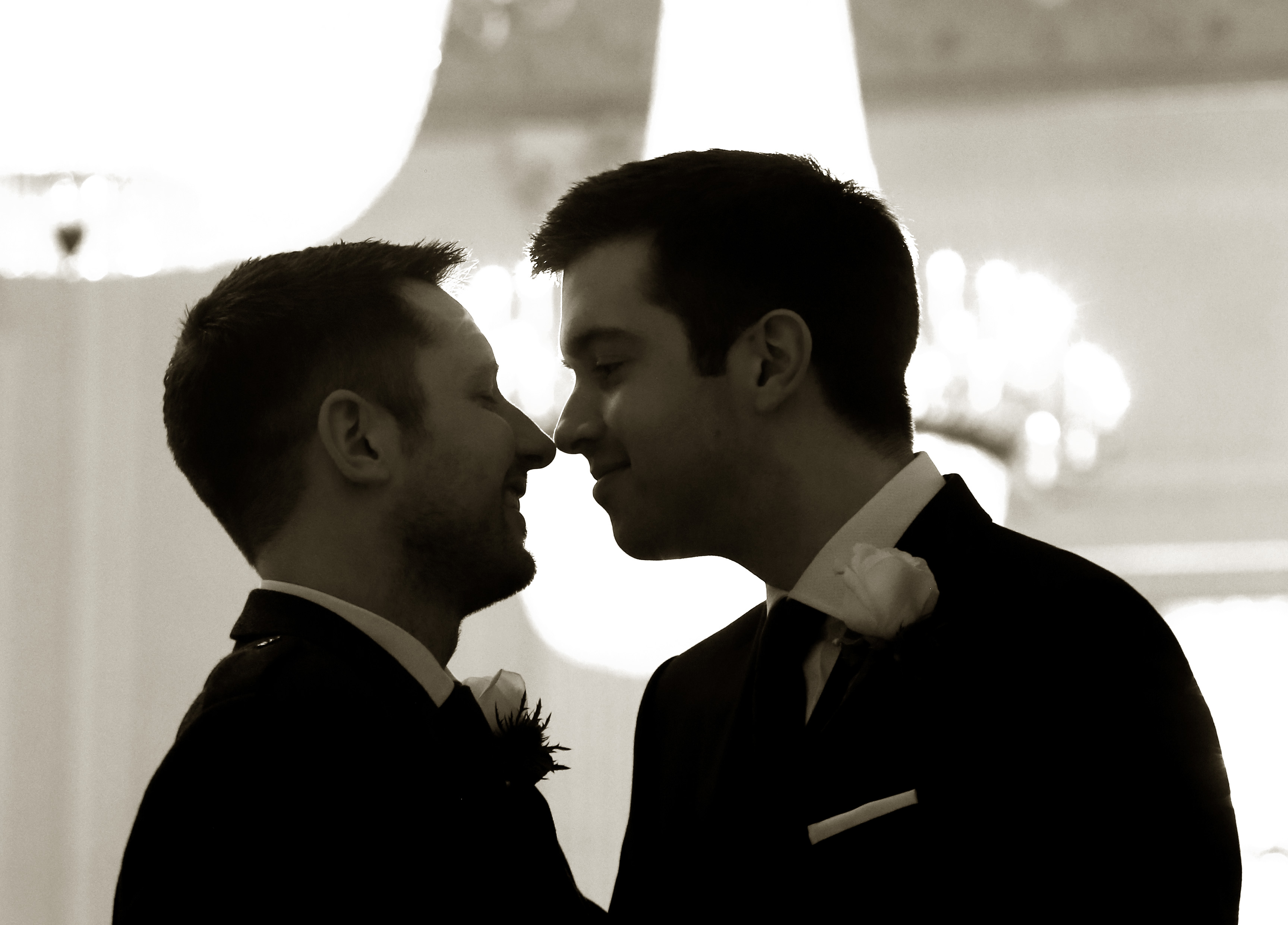 Gordon Aikman and His Husband Joe Pike