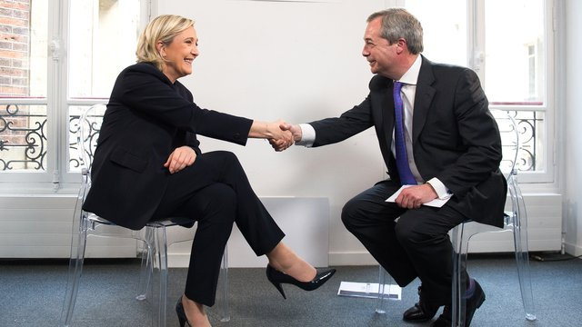 Nigel Farage Meets Marine Le Pen: The Full Interview