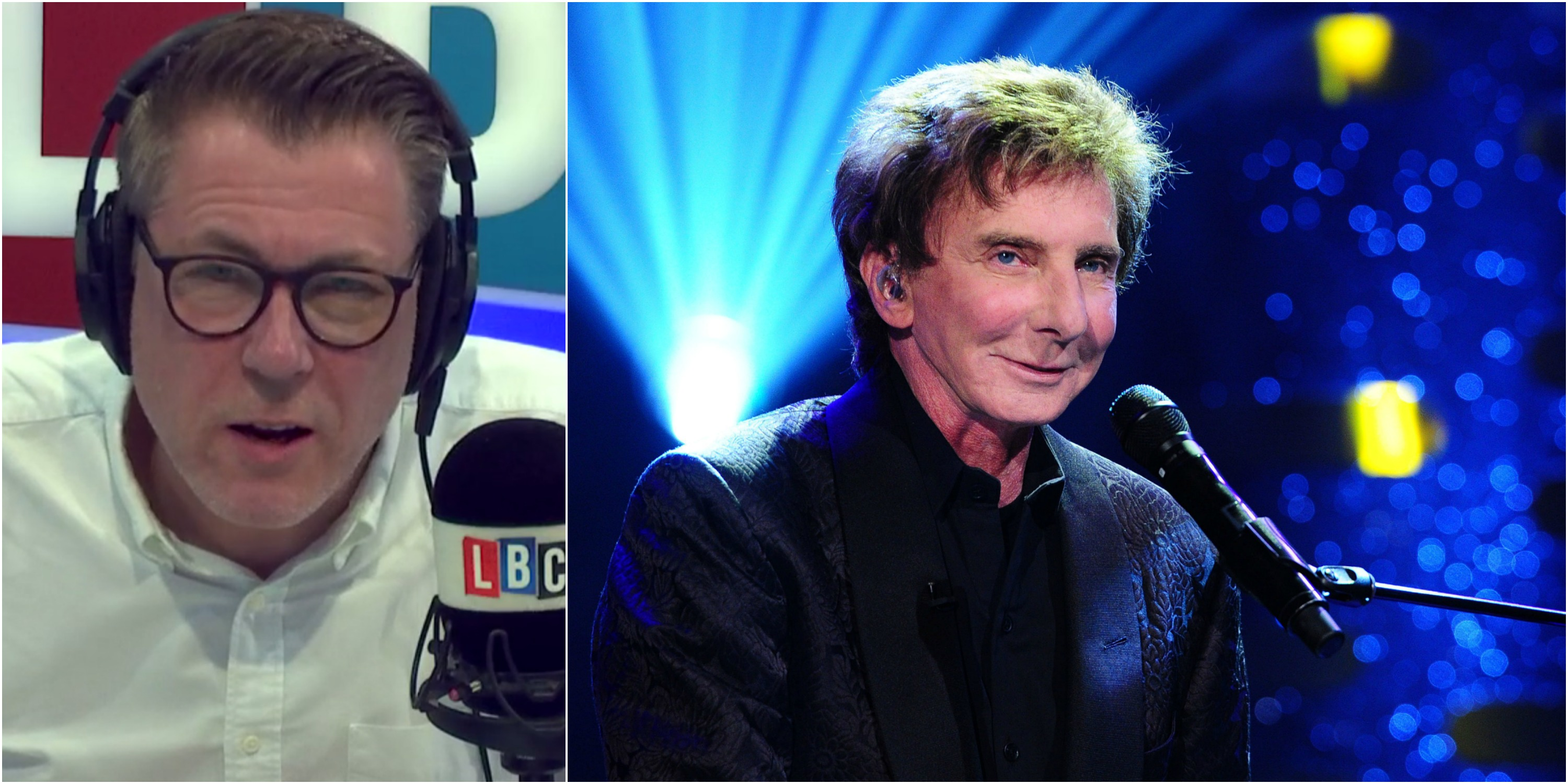 Ian Collins Barry Manilow