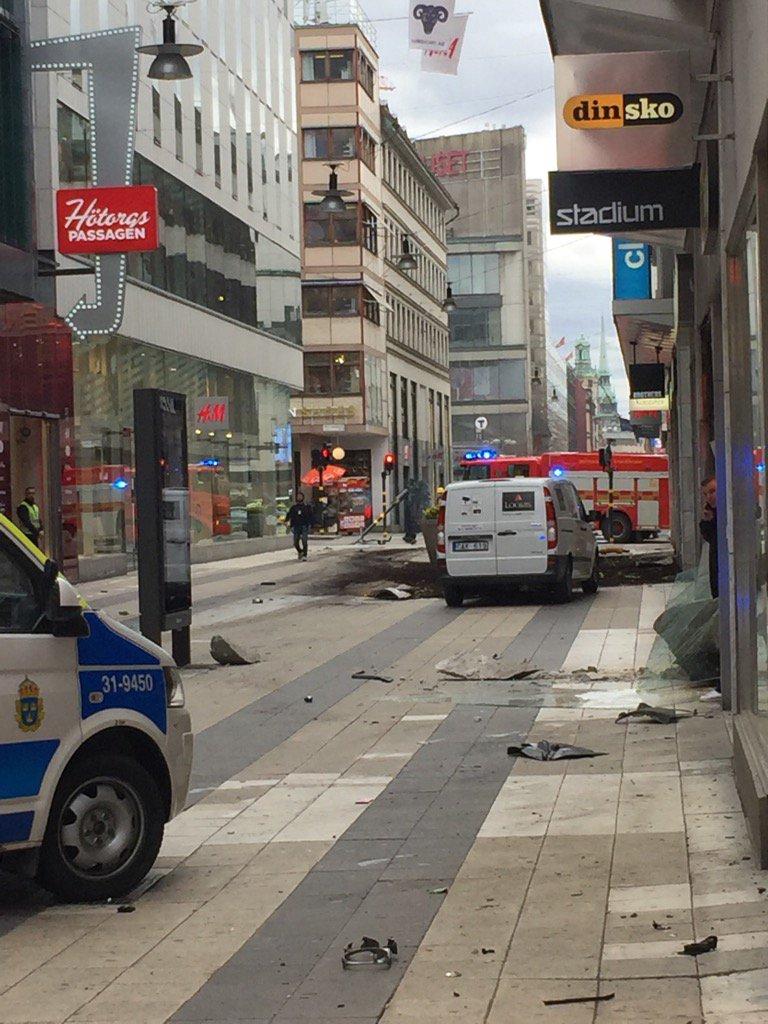 Stockholm Truck Crash - Peter Bjurbo