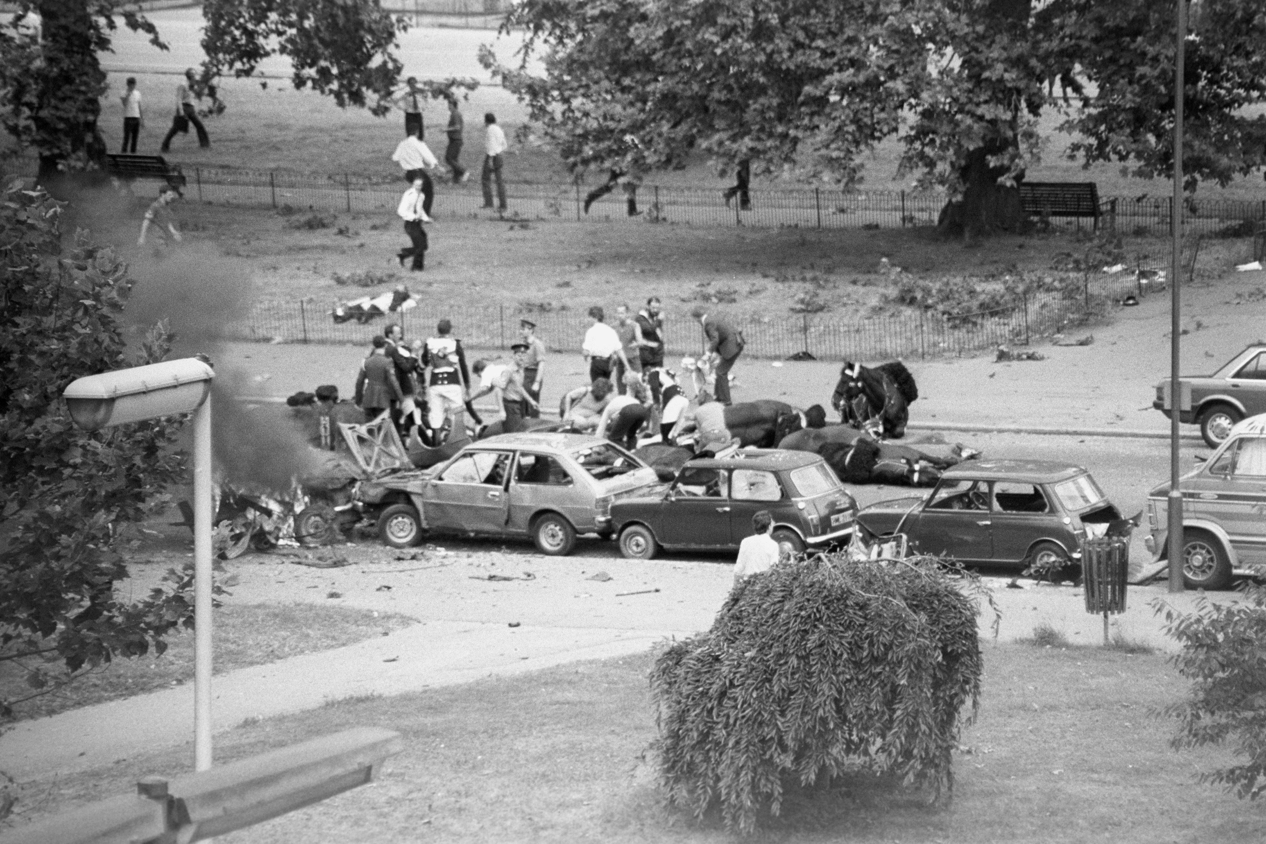 Hyde Park Bomb 1982