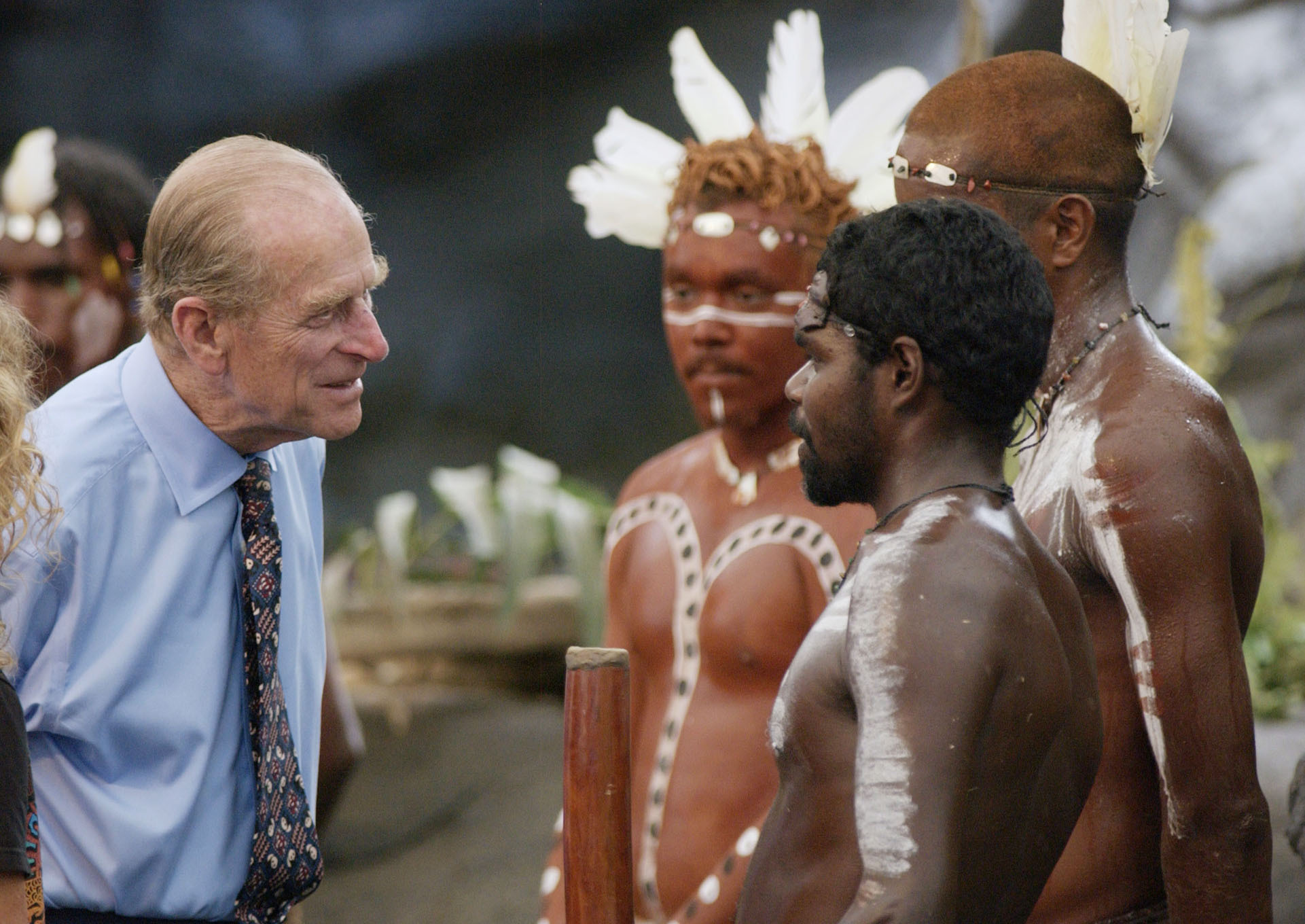 Prince Philip aborigines