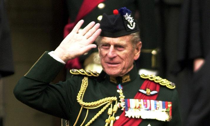 Prince Philip uniform
