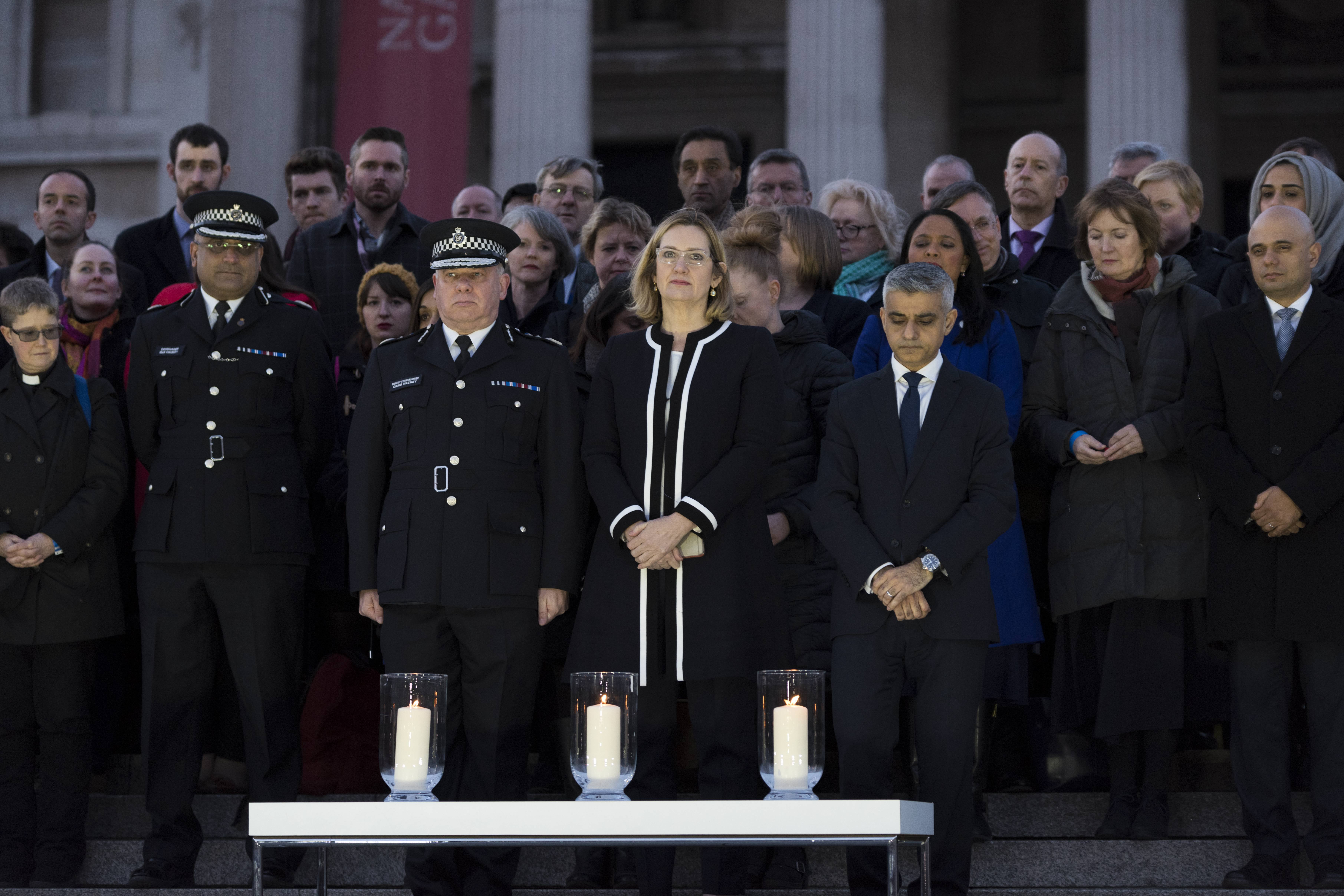 Amber Rudd Police Memorial