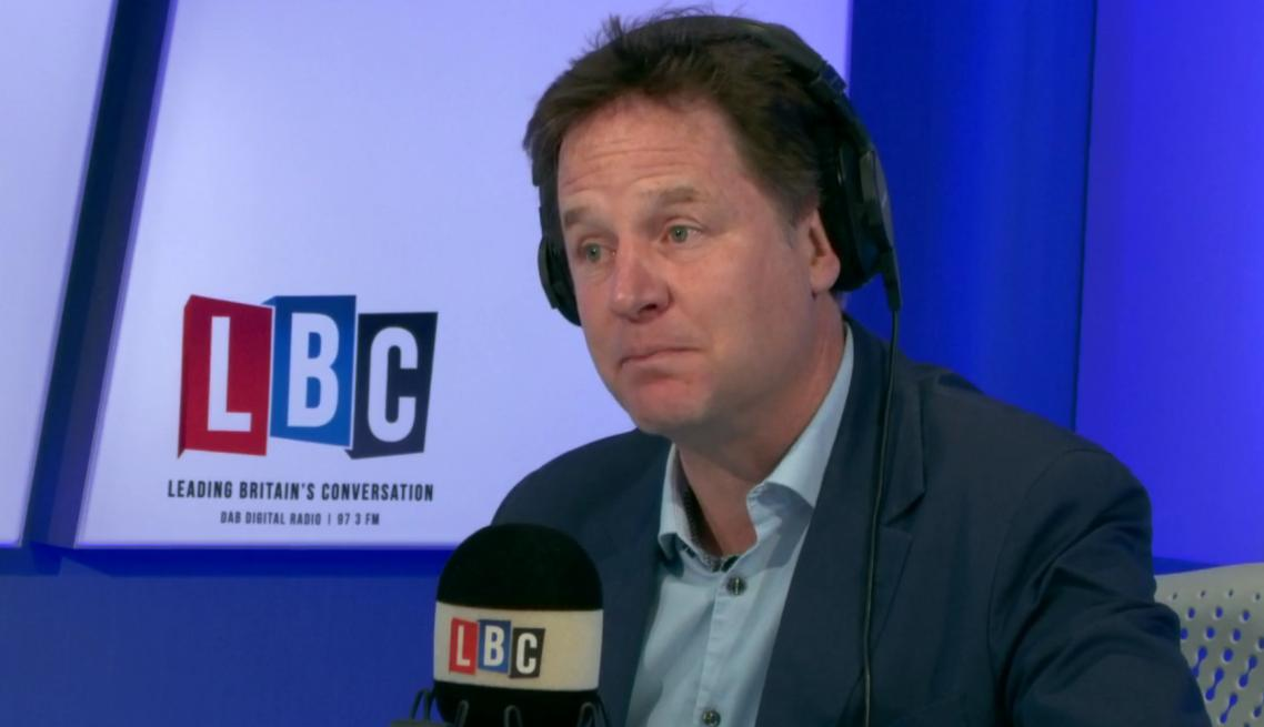 Nick Clegg Election Call