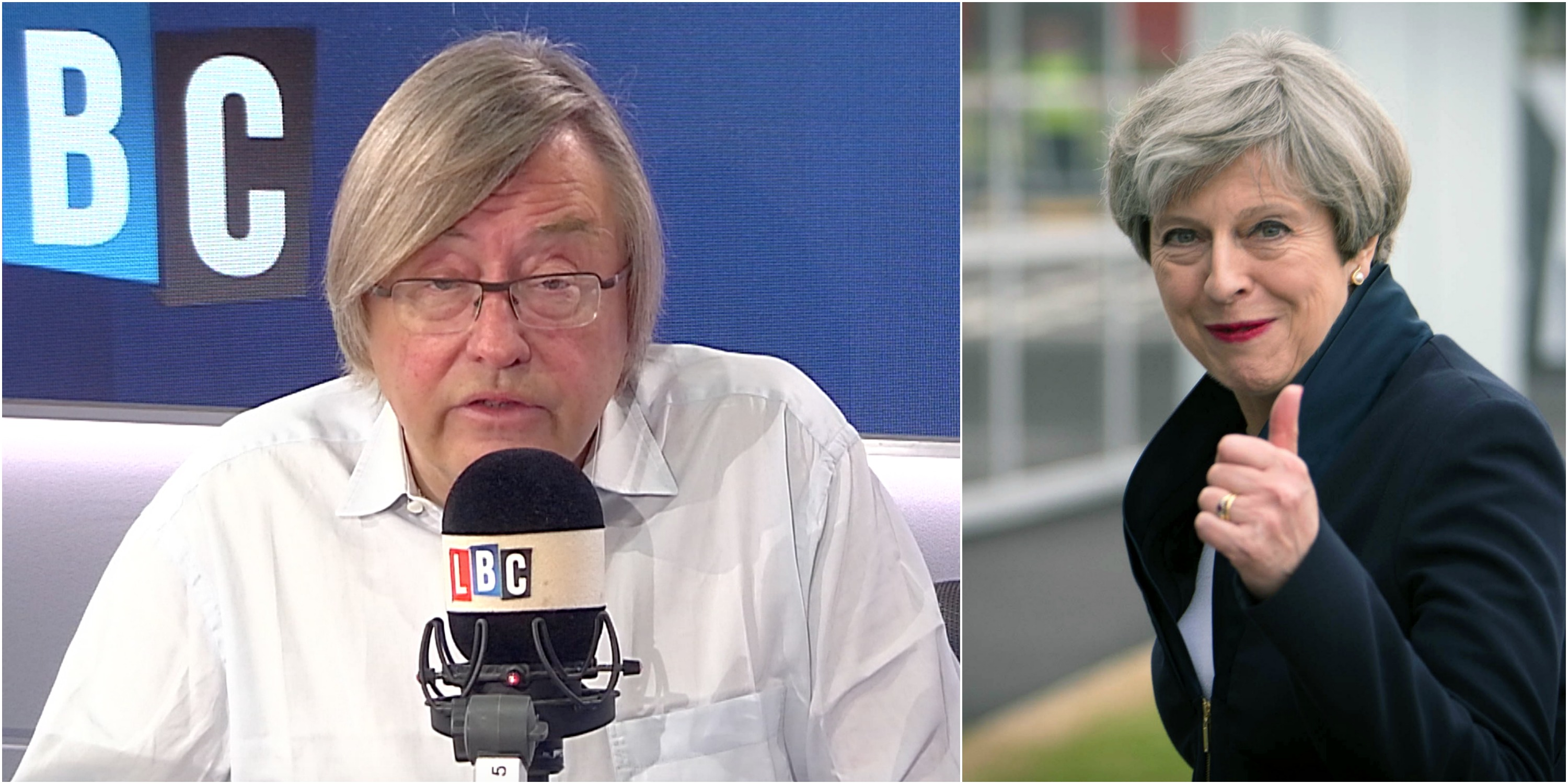 David Mellor Theresa May