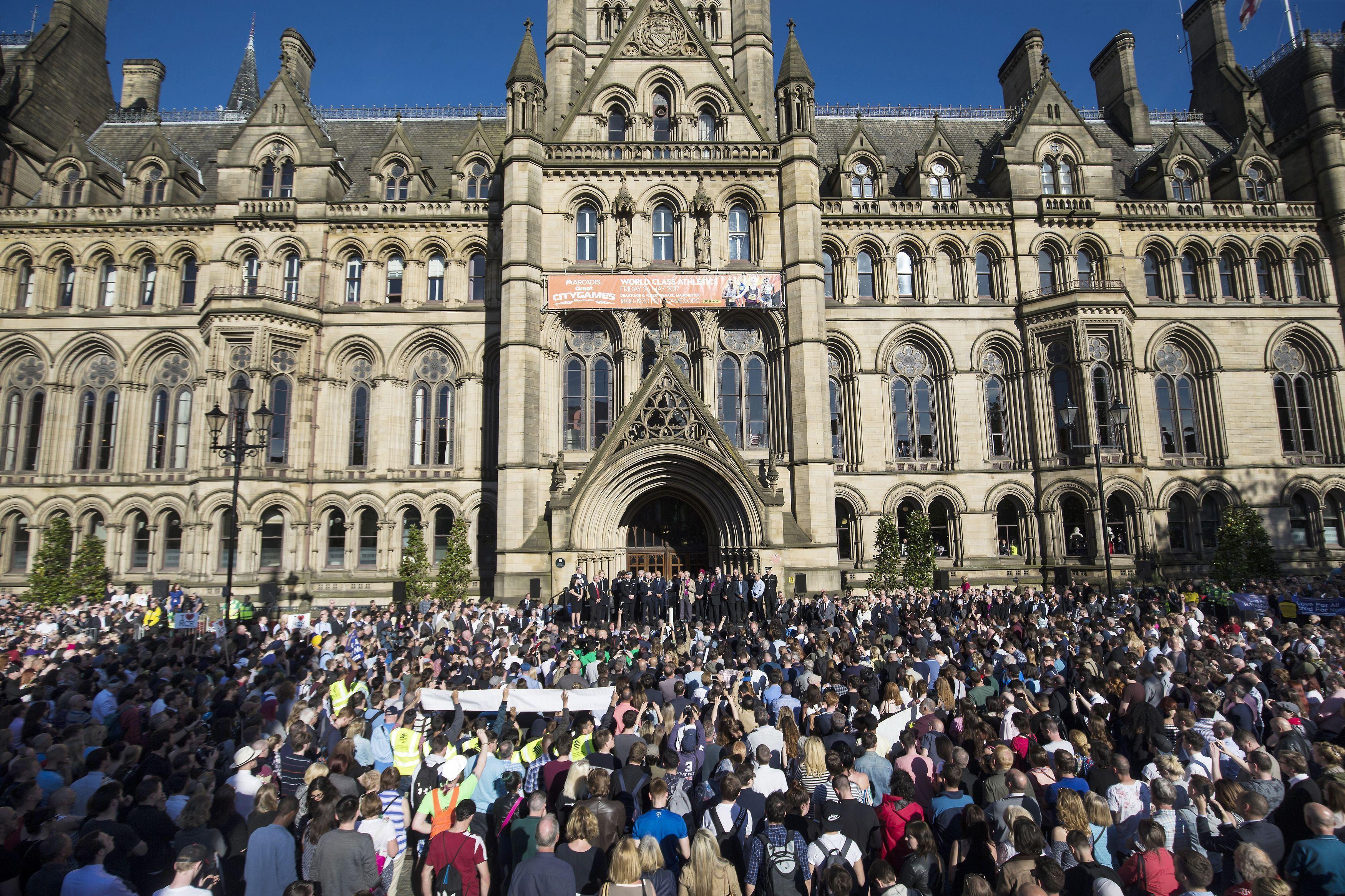 Manchester Vigil
