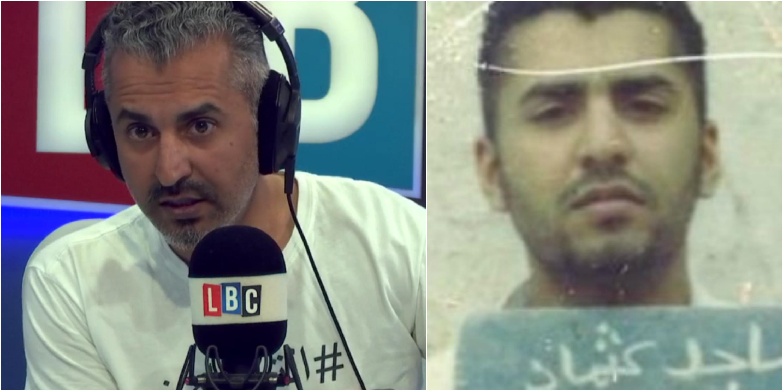 Maajid Nawaz internment