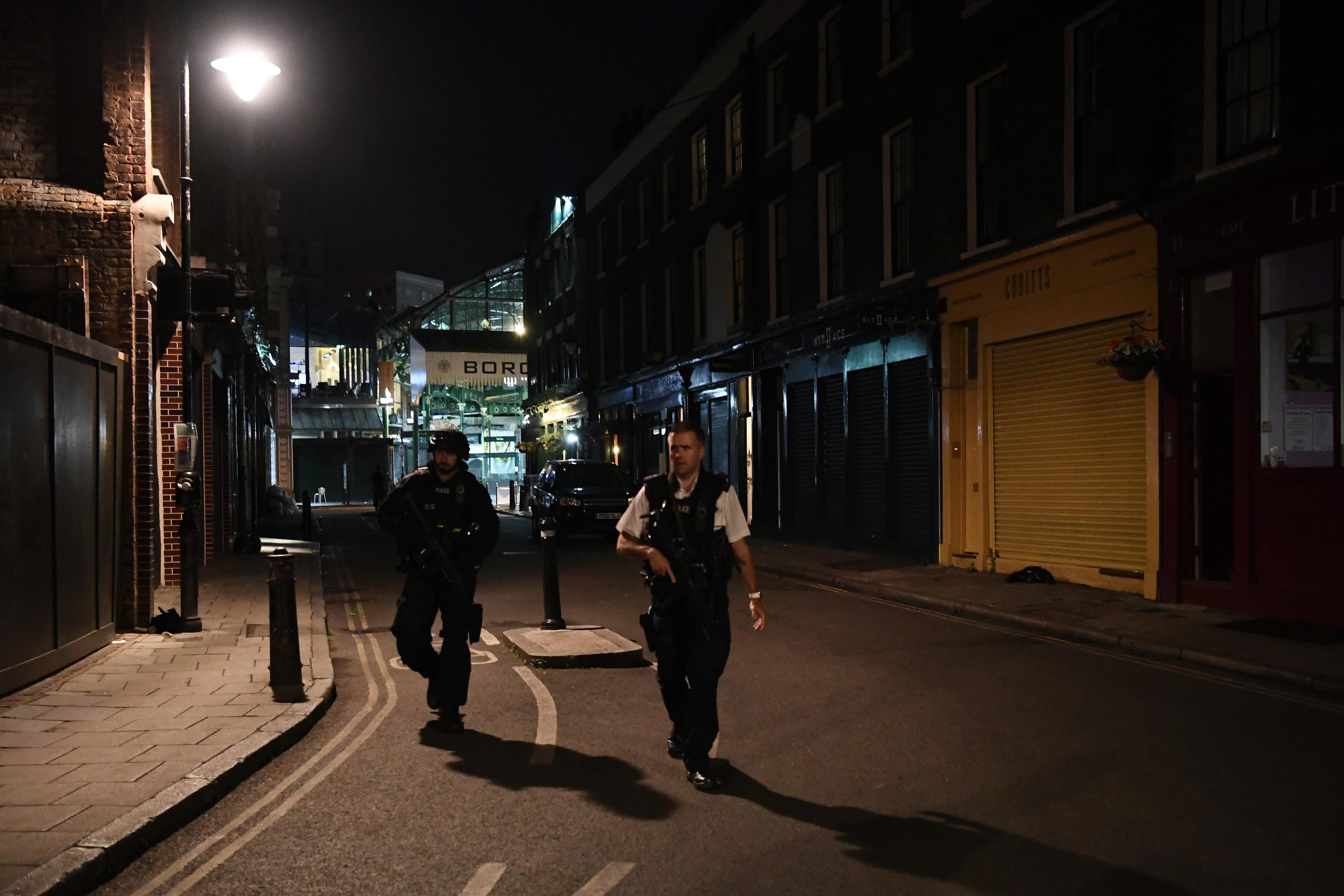 Borough Market police
