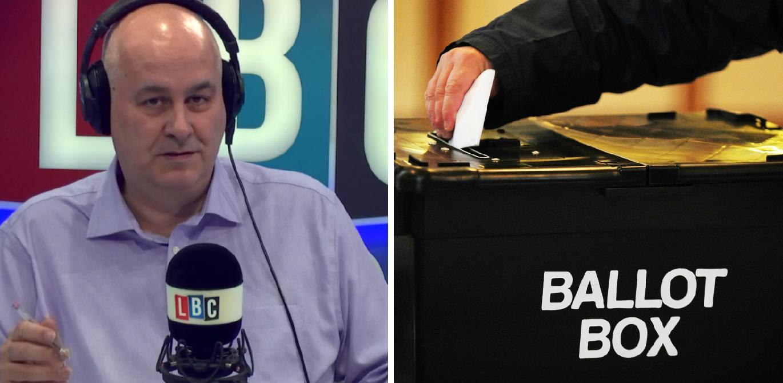 Iain Dale ballot box