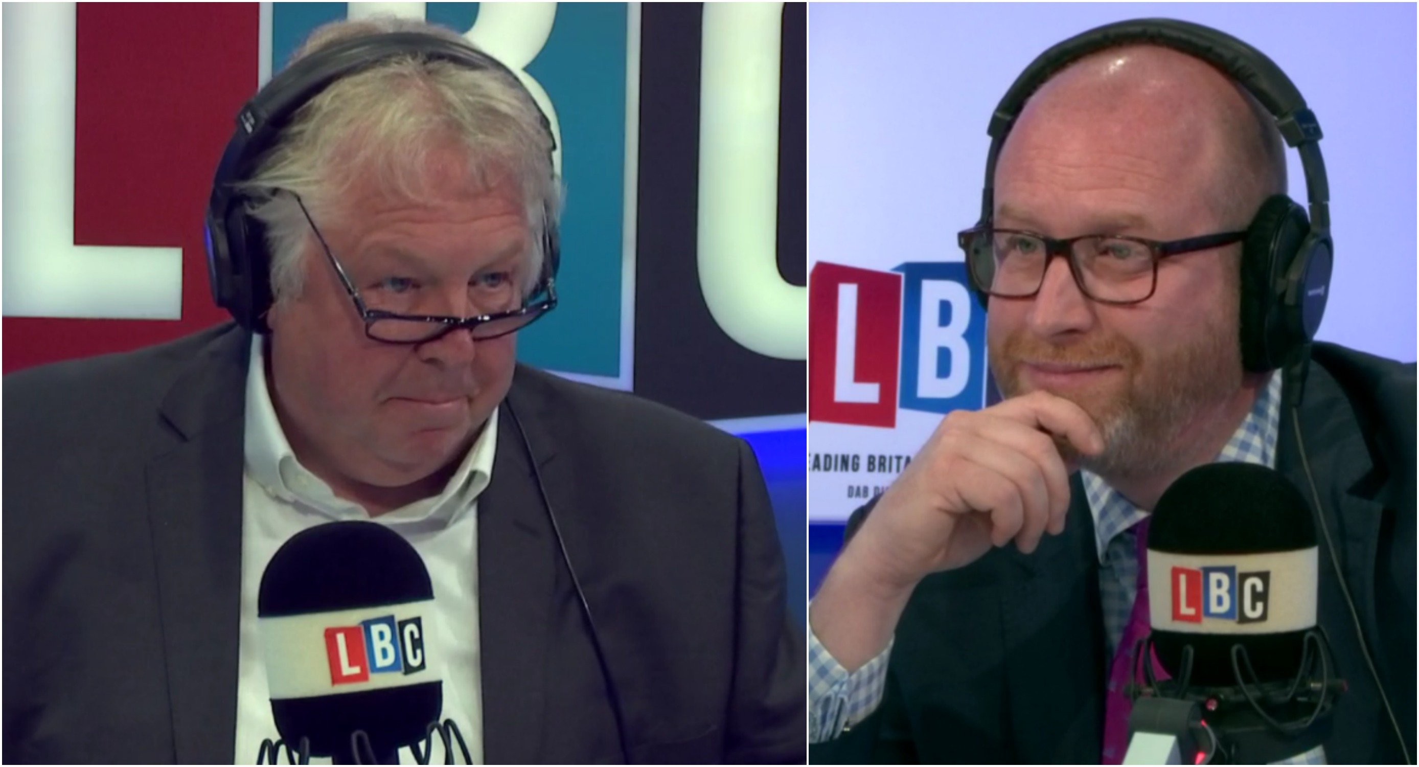 Nick Ferrari Paul Nuttall