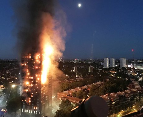 The tragic fire at Grenfell Tower, which killed 71 people